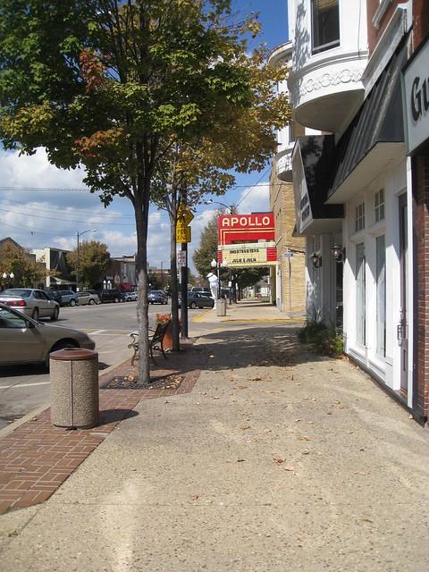 Princeton Illinois - Apollo Theatre - Historic Marque - Downtown