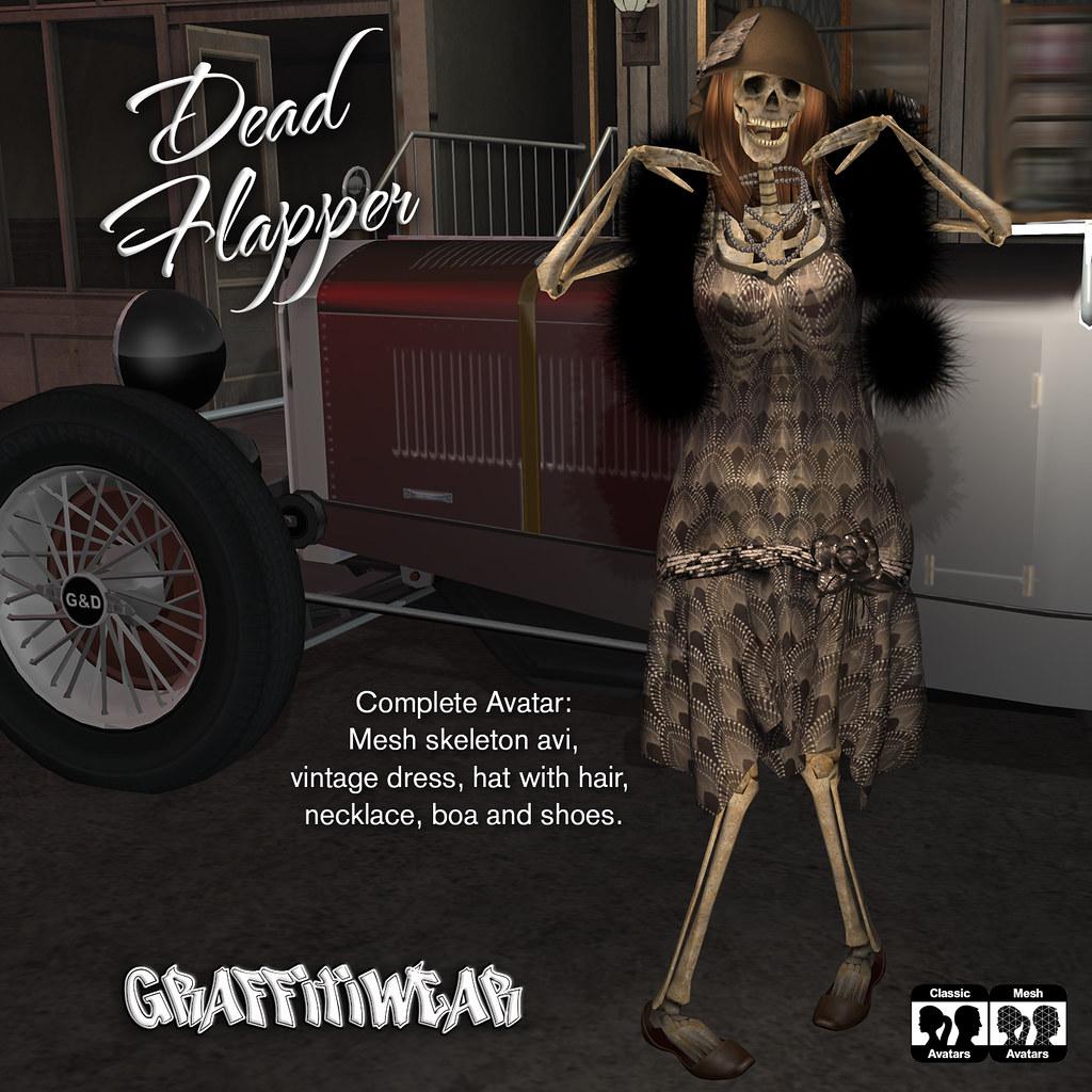 Dead Flapper Costume