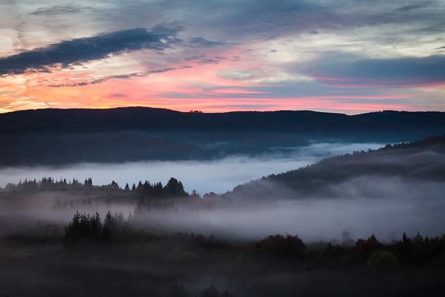 Sunrise on Cheat Mountain