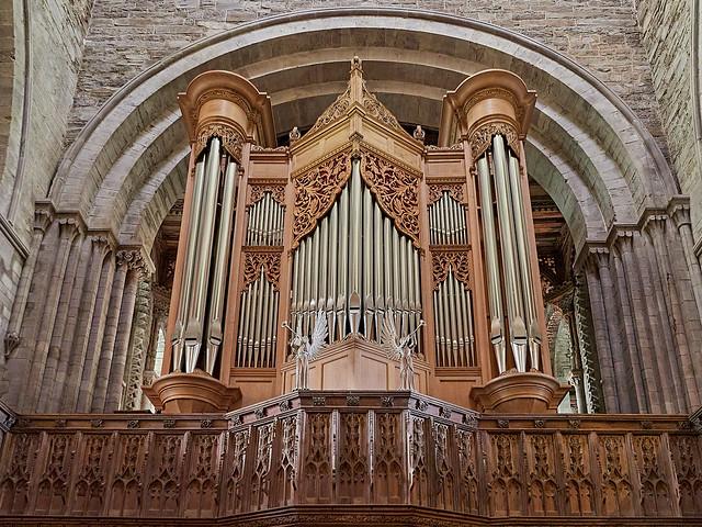 St Davids Cathedral - Organ