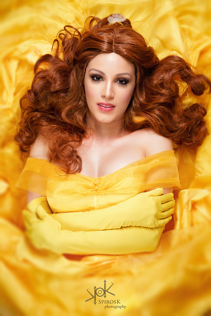 Grace as Belle, from Beauty and the Beast, by SpirosK photography (III: Belle means Beautiful)