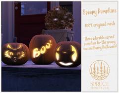 .spruce. spoopy pumpkins