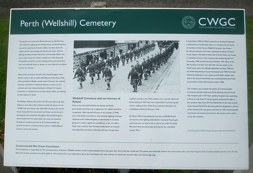 Polish War Graves Information Board
