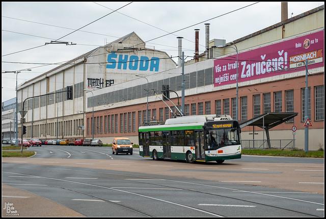 20-09-21 PMDP Škoda 26Tr Solaris Trollino 12 573, Plzen - Tylova
