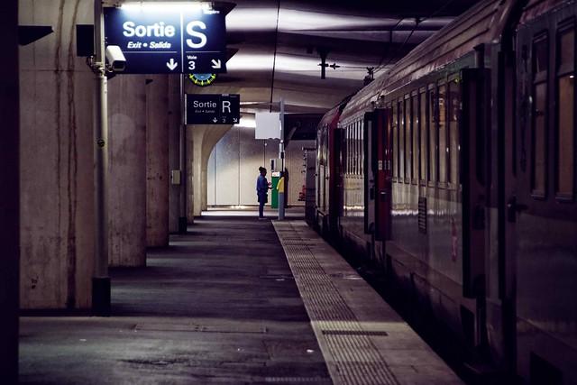 Paris, gare Austerlitz, 1