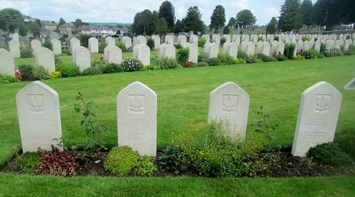 Eight Polish War Graves