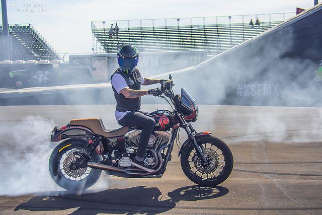 Burnout - Keith Sayers Freestyle Motorcross Team - Nashville Superspeedway