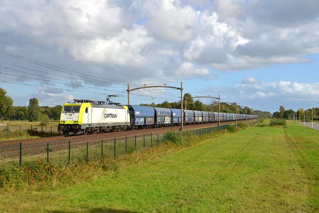 Captrain 186 154-1 | Breda 15 Oktober 2021.