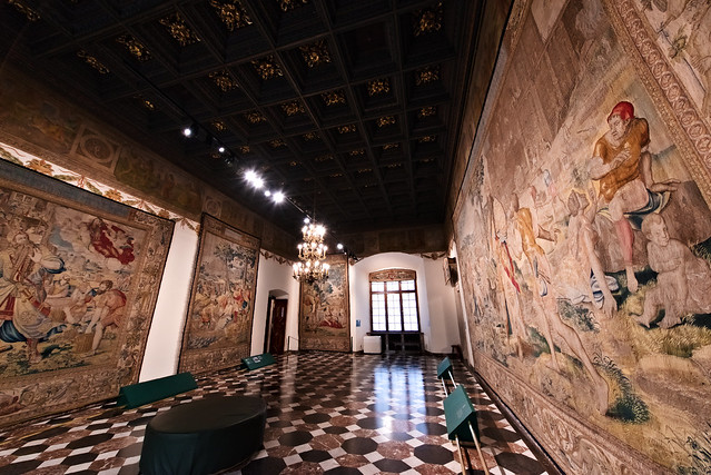 The chambers of the Wawel Royal Castle 2