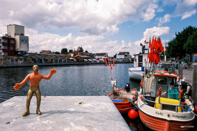 Luchadores por el Mundo  Nº 35: Heiligenhafen Harbour
