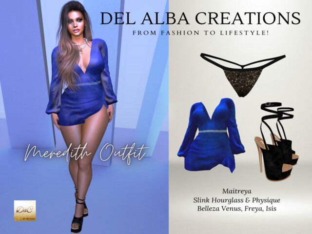 Del Alba Creations | New Release – Meredith Outfit