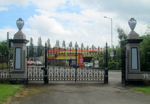 Gates, Jeanfield and Wellshill Cemetery, Perth