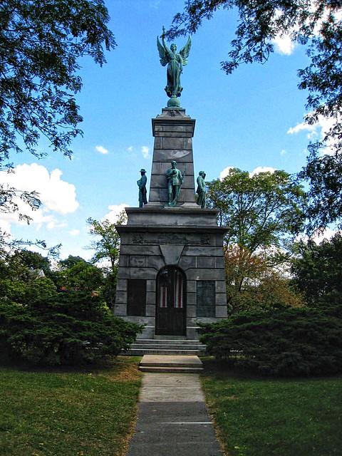 Bureau County Soldiers and Sailors Monument - Princeton  Illinois