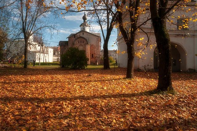 Late Autumn in Veliky Novgorod