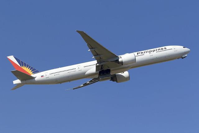 Philippine Airlines 777-300ER RP-C7773 at Heathrow Airport LHR/EGLL