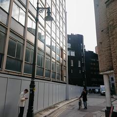 Doomed building, Bruton Lane