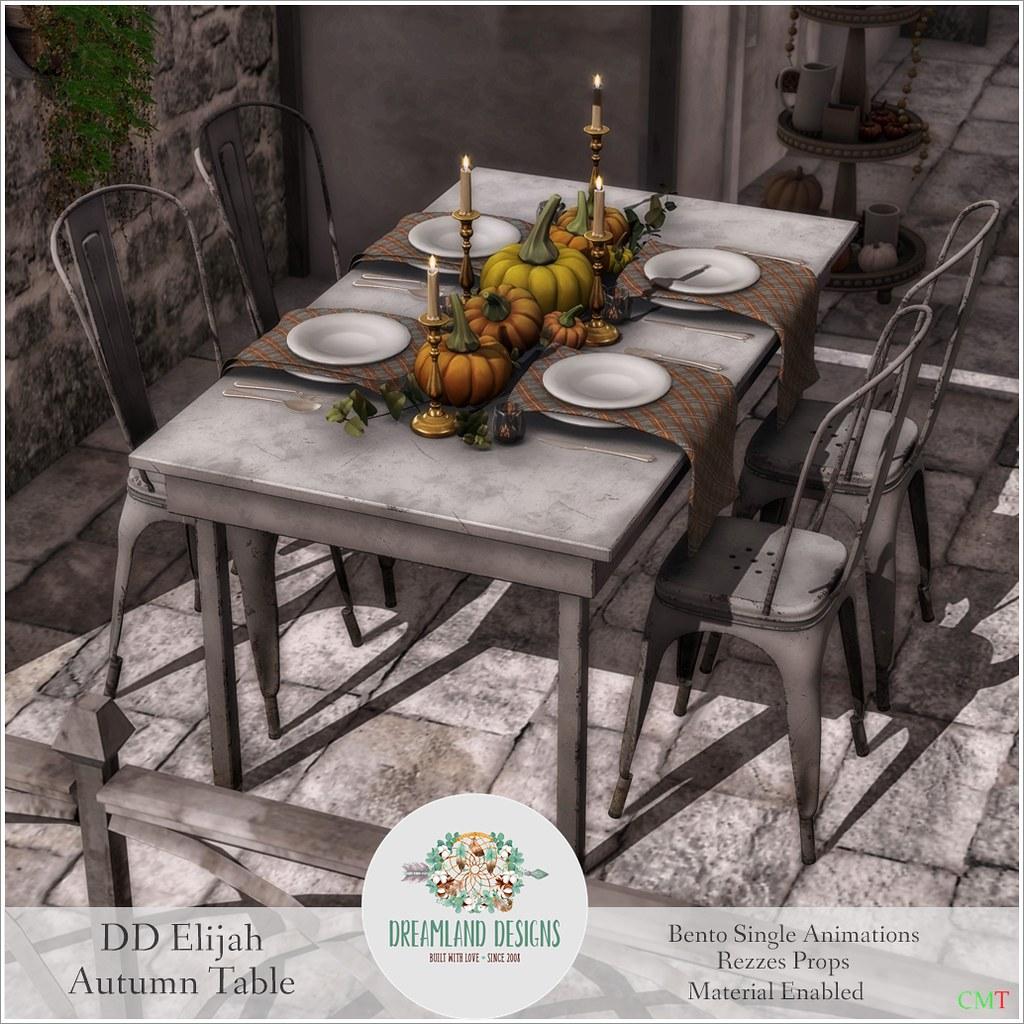DD Elijah Autumn Table SetAD