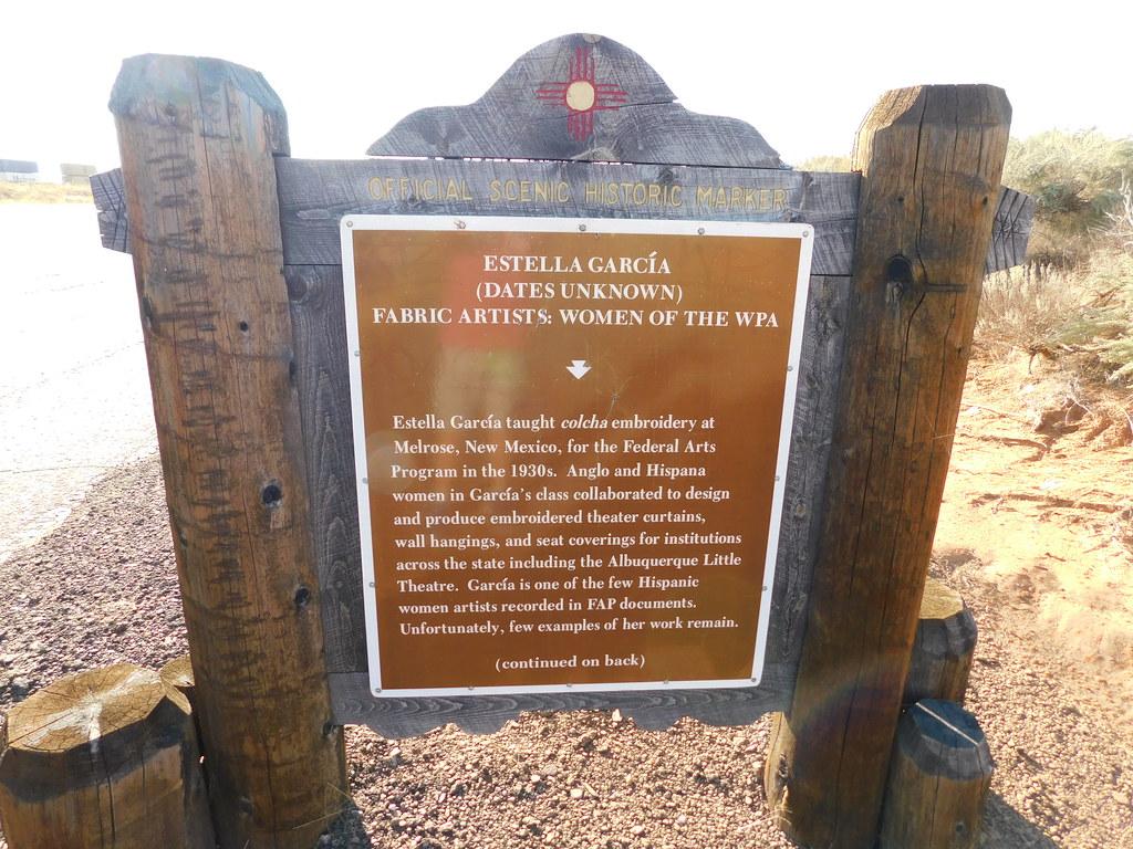 Estella Garcia Historic Marker