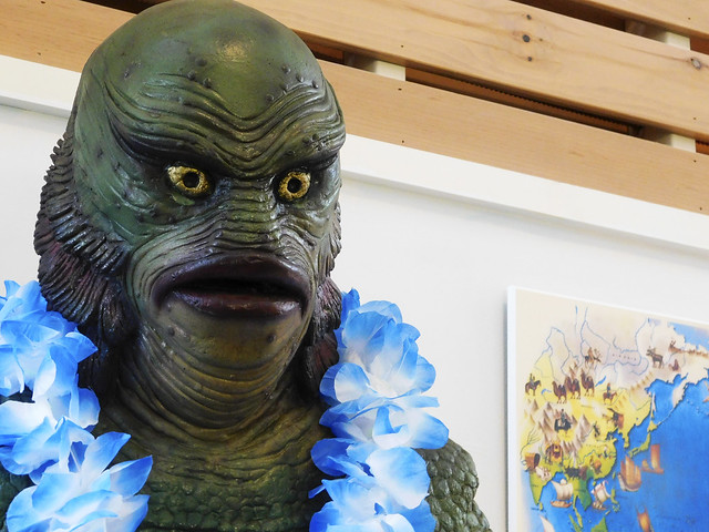 The Creature from the Black Lagoon?