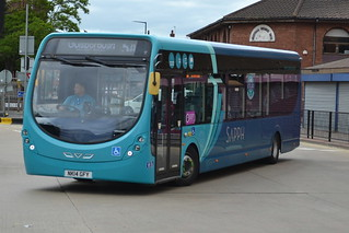 Arriva Wright StreetLite 1550 NK14GFY - Middlesbrough