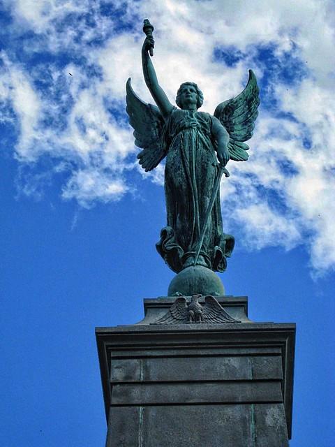 Princeton Illinois - Soldiers & Sailors Monument - Historic