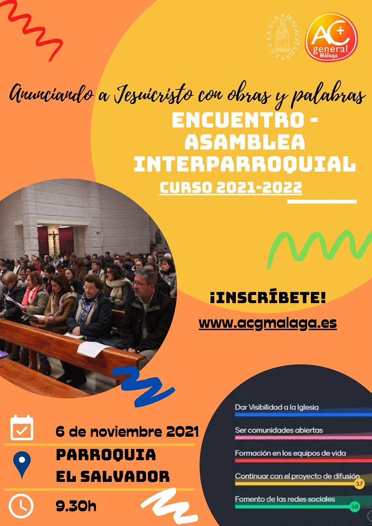 ENCUENTRO – ASAMBLEA INTERPARROQUIAL CURSO 2021-2022