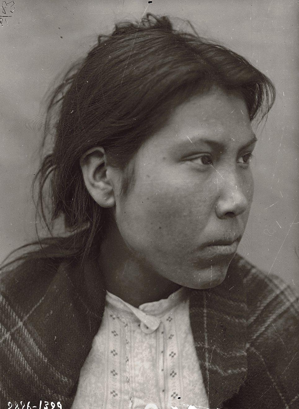 1909. Матрена Заочная. Андреяновские острова, Атка остров, сентябрь - октябрь