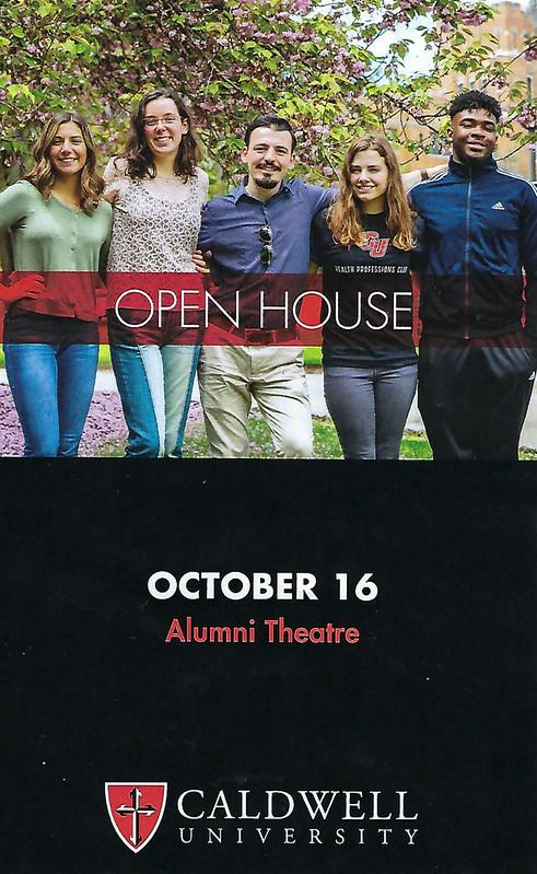 Caldwell University Open House Program