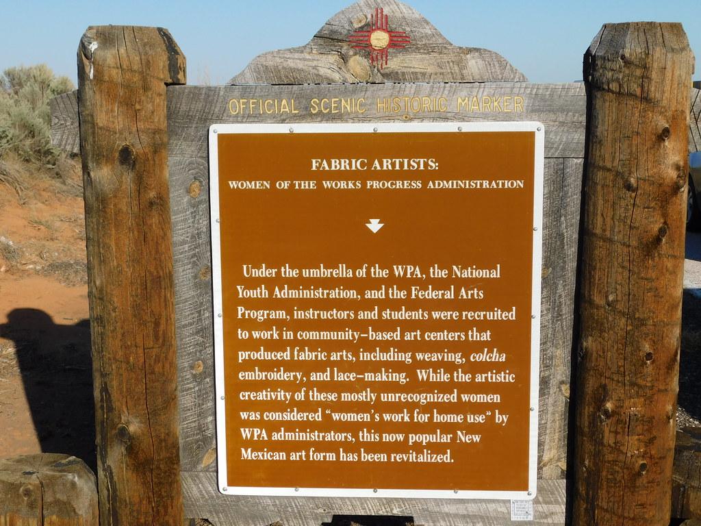 Fabric Artists Historic Marker