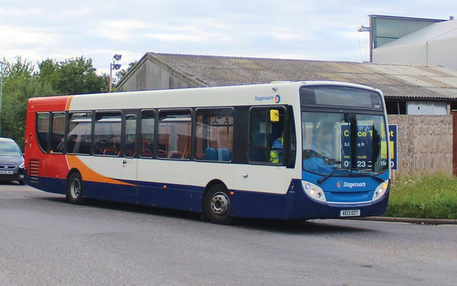 27847 AE13DZT  Seen ariving back at Stagecoach's Cambridge Depot after a days work (27/08/21)