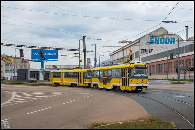 20-09-21 PMDP Tatra T3R.PLF 327 Plzen - Tylova