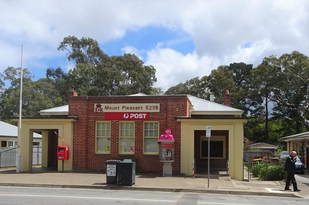 Mount Pleasant.. South Australia. The neo-Georgian Post Office. Built around 1930