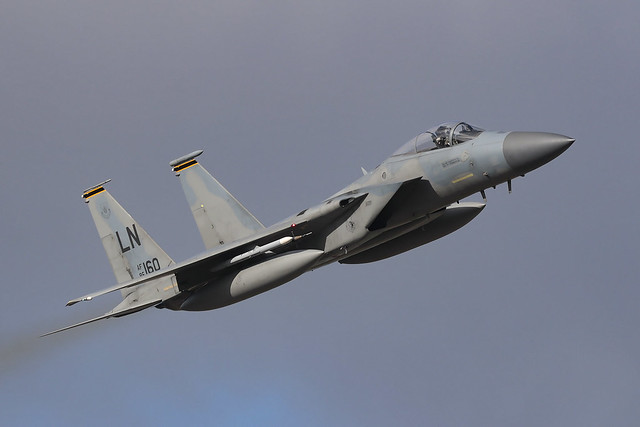 McDonnell Douglas F-15C Eagle 86-0160 'LN' 493rd Fighter Squadron / 48th Fighter Wing