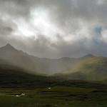 29. September 2021 - 12:26 - Changing light on the Glenshiel Ridge