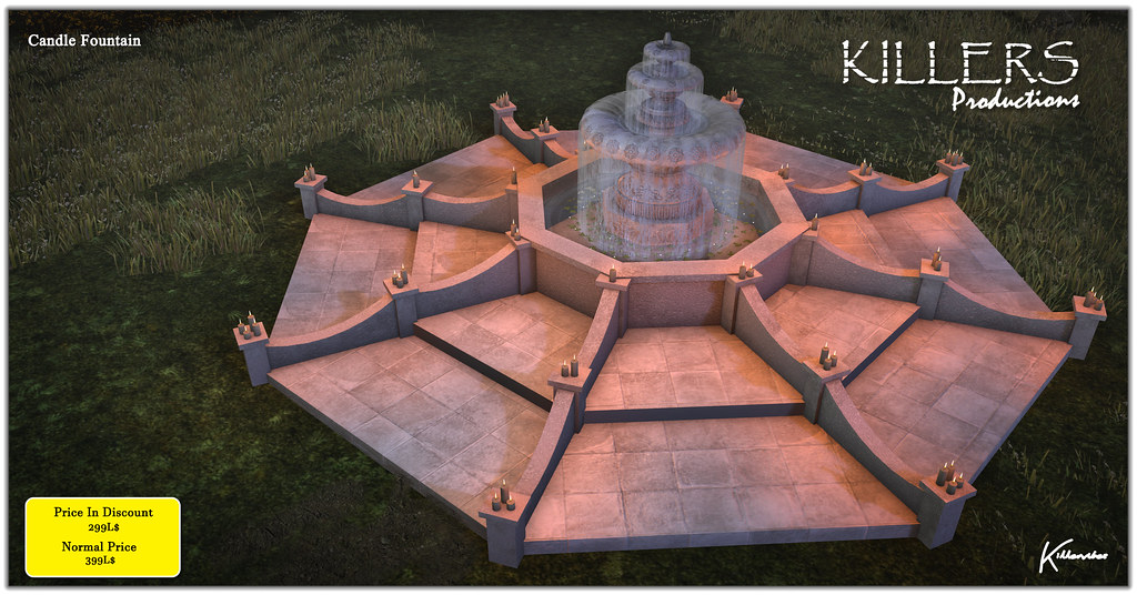 """""""Killer's"""" Candle Fountain On Discount @ Access Starts from 12th October"""