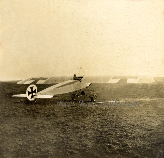 A Fokker M 8 (A.I) two-seat reconnaissance monoplane in the field [Germany, 1914]
