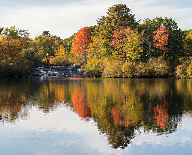 Autumn on the Royal River