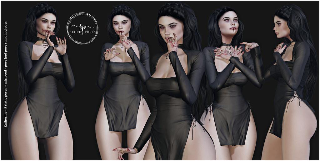 Secret Poses – Katherine @ TLC