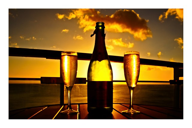 Raise a glass or two off the coast of Dominica