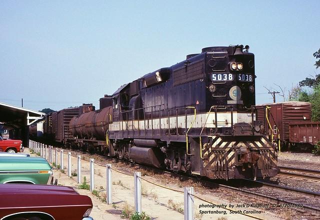 SOU 5083, Spartanburg, SC. 6-20-1980