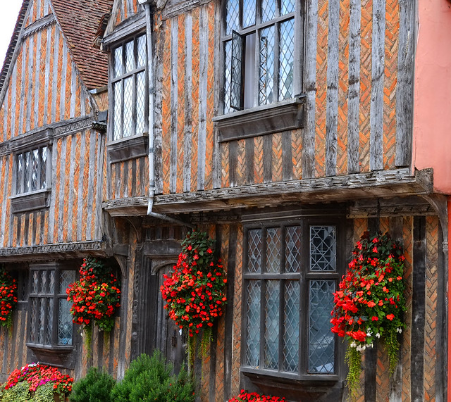 the historic village of Lavenham