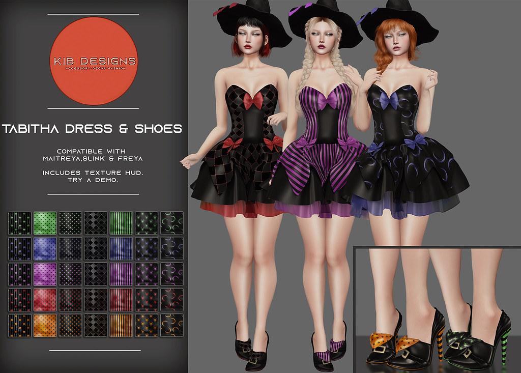 KiB Designs – Circe Gown & Shoes@Beauty Event 21 st