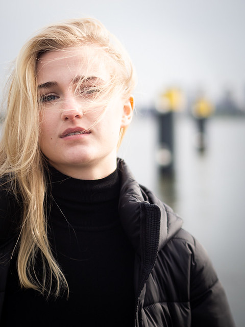 Robin, Amsterdam 2021: Wind in her hair