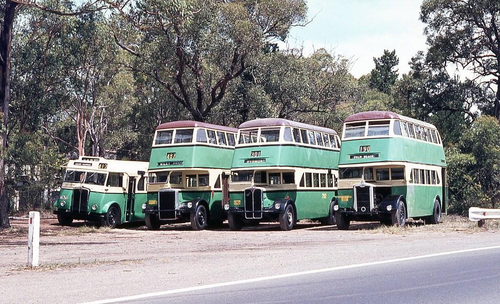 Preserved Buses, Loftus, Sydney, NSW.