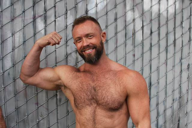 MANLY MASCULINE MUSCLE MAN ! photographed by ADDA DADA ! ~ FOLSOM STREET FAIR 2021 !  (safe photo) (50+ faves)