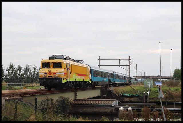 Strukton - TCS 1824 met Dinner Train en TCS 102001
