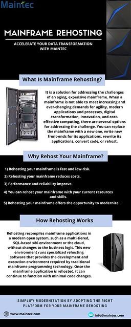Mainframe Rehosting