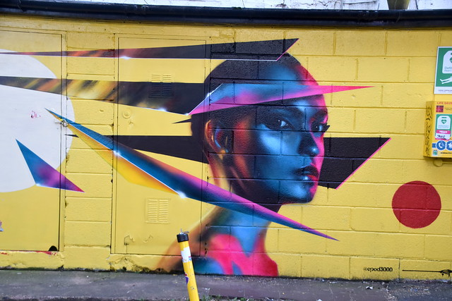 Street Art.. Custrad Factory, Digbeth.