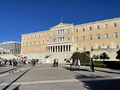 Syntagma Square in Athens Photo:Heatheronhertravels.com