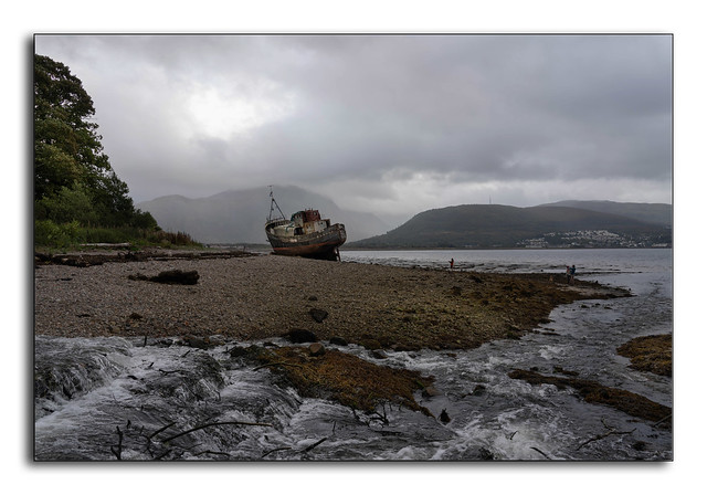 The Caol wreck.